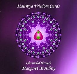 Maitreya Wisdom Cards Book